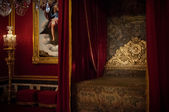 Louis XIV bedroom at Versailles palace, Paris, France — Stock Photo
