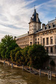 Building of regional directorate of judical police, Paris, France — Stock Photo