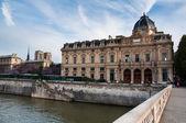 Tribunal de commerce, Paris, France — Stock Photo