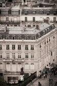 View of Paris from Arc de Triomphe — Zdjęcie stockowe