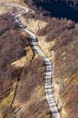 Landscape of the road at Stara planina - Old Mountain, Balkans, Serbia — Stock Photo