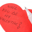 Will you be my Valentine? — Stock Photo #12002555