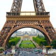 Daytime Eiffel — Stock Photo