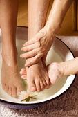 Fotmassage — Stockfoto