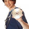 Medical disk — Stock Photo #12363890
