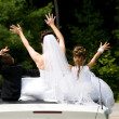 Stock Photo: White Bride