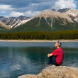 Lake and Mountains — Stock Photo