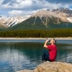 Lake and Mountains — Stock Photo #12365034