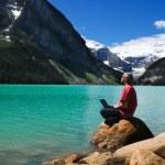 On the lake — Stock Photo #12365049