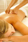 Massage Therapy — Stock Photo