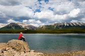 Lake and Mountains — Stock Photo