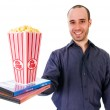 Popcorn movie — Stock Photo #12419711
