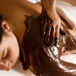 Chocolate treatment — Stock Photo