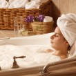 Bath time — Stock Photo