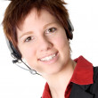 Stock Photo: Telemarketing