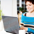 Woman with Laptop — Stock Photo #12423989