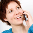 On the phone — Stock Photo #12424078
