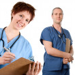 Stock Photo: Male nurse