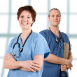 Male nurse - Stockfoto