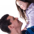Father smiles — Stock Photo #12424369