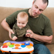Playful dad — Stock Photo