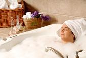 Bath and oils — Stock Photo
