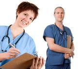 オスの看護婦 — ストック写真