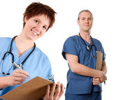Male nurse — Stock Photo