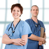 Male nurse — Stock Photo