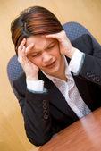Headache — 图库照片