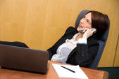 Conference call — Stock Photo