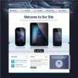 Website design template — Stockvektor #14715067