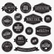 Set of stickers for sale — Stock Vector #18554187