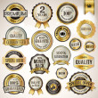 Stockvector : Set of luxury badges and stickers