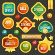 Set of badges and stickers — Stock Photo #21341893