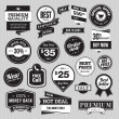 Set of badges and stickers for sale — Stock Vector #21341895