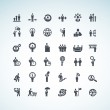 Set of business concept icons — Stock Vector #23630299