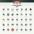 SEO and development icon set — Stock Vector #25286553