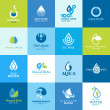 Set of icons for all types of water — Stock Vector #28374279