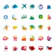 Постер, плакат: Set of holidays icons