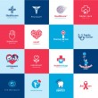 Set of medical and healthcare icons — Stock Vector #36024877