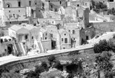 Matera houses — Stock Photo