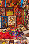 Peruvian handicraft — Stock Photo