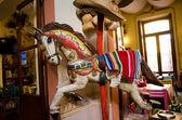 Merry-go-round paard — Stockfoto