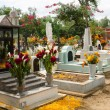 Mexican cemetery — Stock Photo