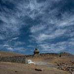 A Buddhist monastery in Tibet — Stock Photo