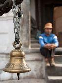 колокол на цепочке — Стоковое фото