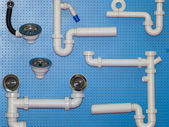 Tubing for water supply — Stock Photo