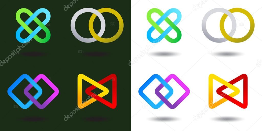 Team Logo Infinite shape icon Consulting Team concept  Stock Vector #12888740