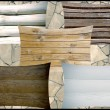 Different wooden boards as background — Stock Photo #12451776